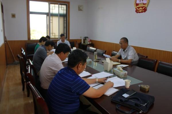 杜集区人大常委会党组召开第十八次会议
