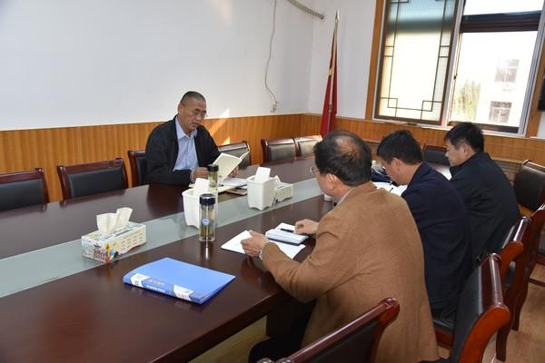 杜集区十届人大常委会党组举行 第十九次会议