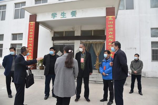 杜集区人大常委会调研2020年春季校园开学疫情防控工作