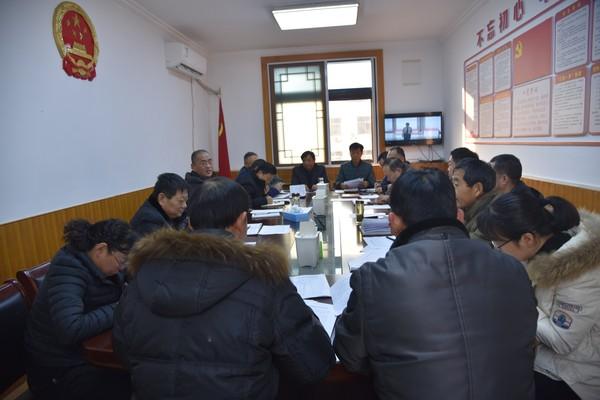 杜集区人大党支部召开2020年度组织生活会